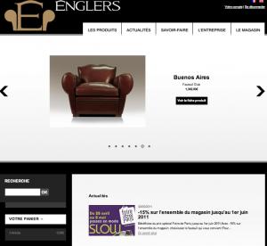 Création site internet référencement Englers