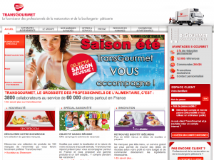 Stratégie webmarketing Transgourmet