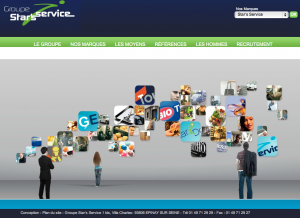 Création site internet Star's Service